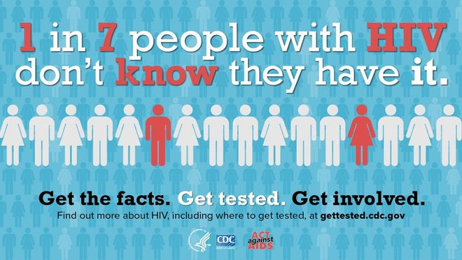 One in seven people with HIV do not know they are HIV positive, according to the Ingham County Health Department.
