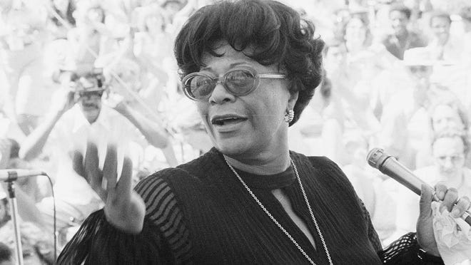 The great jazz singer Ella Fitzgerald last performed in Tallahassee during the mid-'80s. She would have turned 100 on April 25.