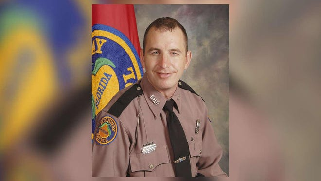 FHP Trooper Joseph Bullock. Photo provided by Florida Highway Safety and Motor Vehicles Office of Communications