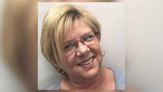Vickie Schafer, a Loxahatchee bookkeeper, is fighting for her life at Palms West Medical Center as doctors wait tests results on whether she has COVID-19. [Photo  Provided].