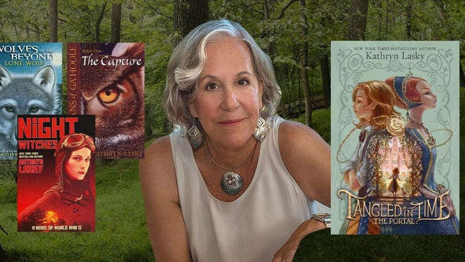 Kathryn Lasky has written over 100 books spanning a wide variety of styles and genres.