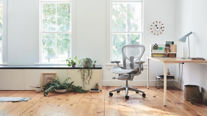 Herman Miller furniture built for the home office focuses on long-term health benefits. The Zeeland-based company will launch a series of retail concept stores featuring the products this fall.