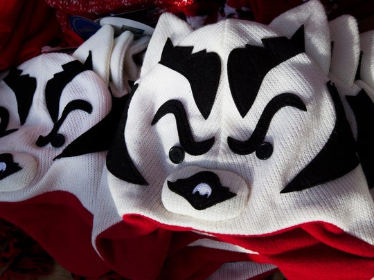 These Badger hats are the best seller for Robb Polinske.