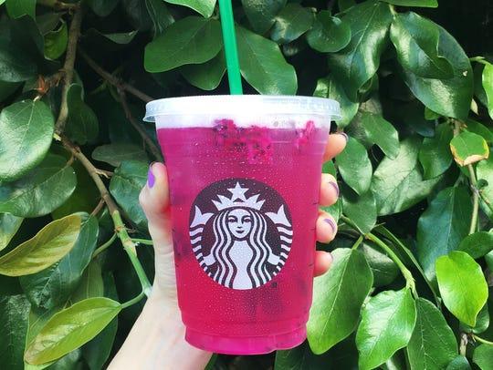 Starbucks Mango Dragonfruit Refresher