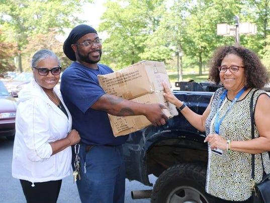 Plainfield native donates school supplies for Plainfield Public Schools children