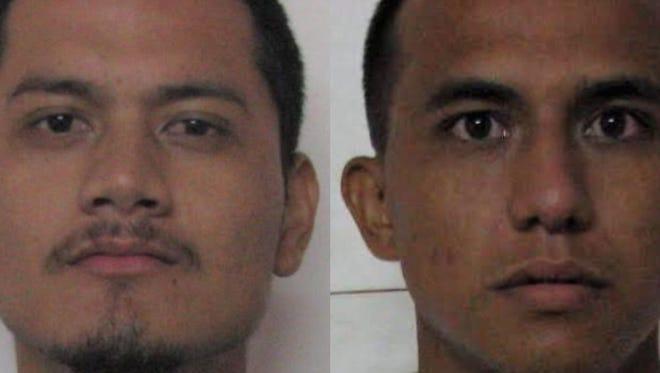 Benjamin Junior Ferrer and Cameron Jose Guerrero