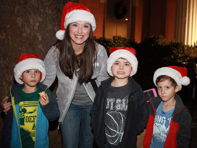 Brandi Park and her boys Aiden, Austin and Ryder at
