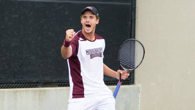 Tassilo Schmid and the men's tennis team earned a spot in the NCAA Tournament at Chapel Hill.