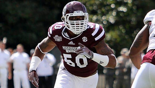 Former Mississippi State linebacker Benardrick McKinney was selected in the NFL draft on Friday.