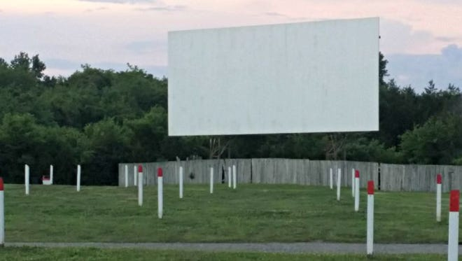 Stardust Drive-In features first-run films on two different screens. The sound is broadcast through your car's stereo system.