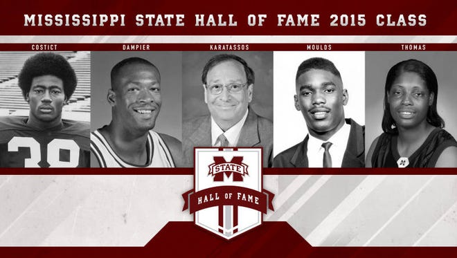 Mississippi State elected five into its sports Hall of Fame.