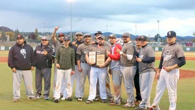 The Outlaws captured the Senate Series Fall Baseball League title after beating the Generales.