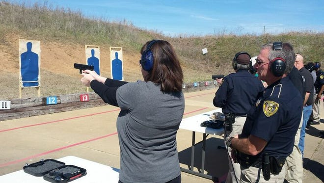 Women's safety and firearms class