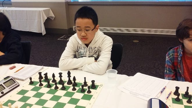 East Fishkill's Brandon Wang is an 11-year-old chess whiz.