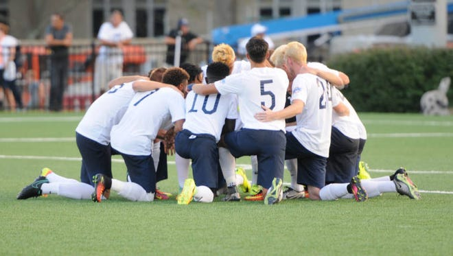 The Monmouth University men's soccer dropped a 3-0 decision on Sunday agaisnt UMass-Lowell in West Long Branch.