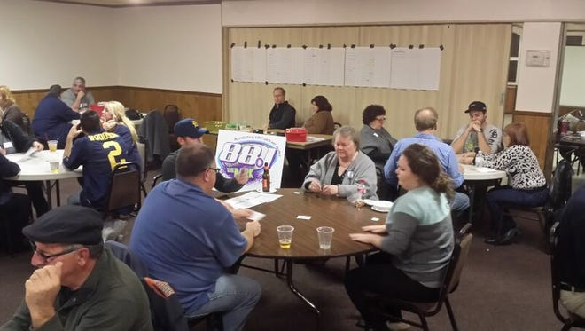 Sign up for the Plymouth-Canton radio station euchre tournament.