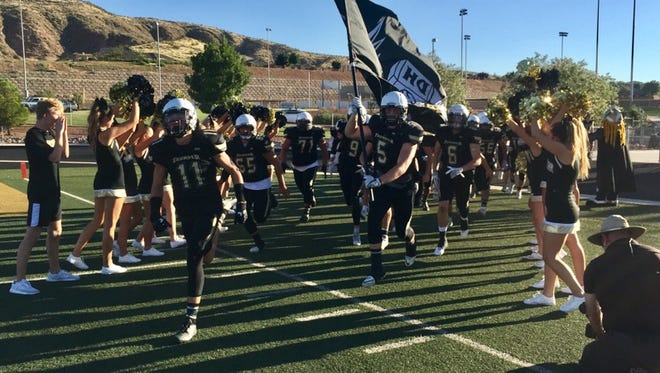 Desert Hills takes on Mission Hills (Calif.) in a big showdown Friday night in San Marcos, California. The Thunder will take on Utah quarterback commit Jack Tuttle with several stars of their own as they look to put St. George on the map.
