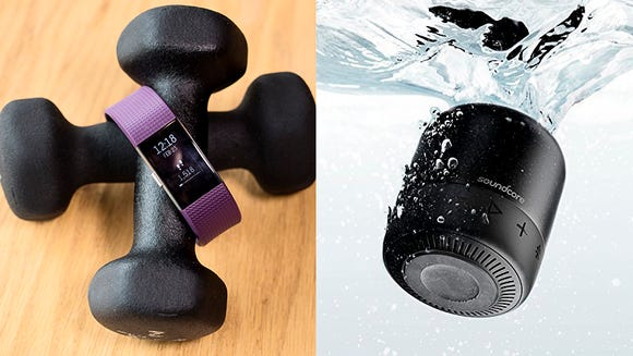Today's best deals include fitness trackers and waterproof