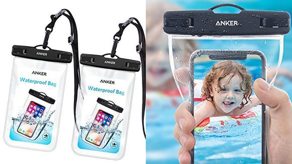 Use your phone by the pool worry-free.