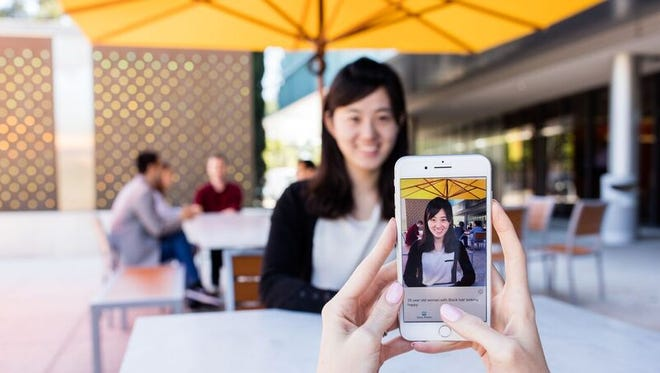 Microsoft's Seeing AI for the iPhone tries to identify a person's gender, approximate age and mood.