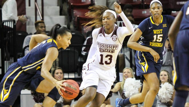 Mississippi State women's basketball player Ketara Chapel
