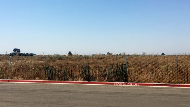 The 70-acre lot just west of Ridgeview Middle School will be the site of the new high school if Visalia residents pass a bond proposed by Visalia Unified in 2018.