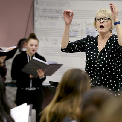 Sylvia Cauter,is a vocal music teacher at North Kitsap