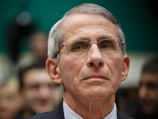 Anthony Fauci said it is likely the Ebola virus spun