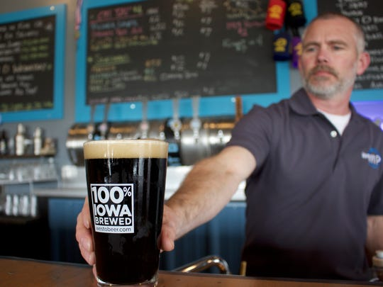 CocO Stout, brewed by West O Beer, is a back-to-back gold medal winner at the Great American Beer Festival. West O Beer opened in West Okoboji in 2013.