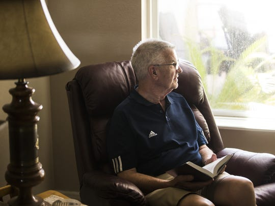 David Bjorem, 79, a member of the Gideons Scottsdale,