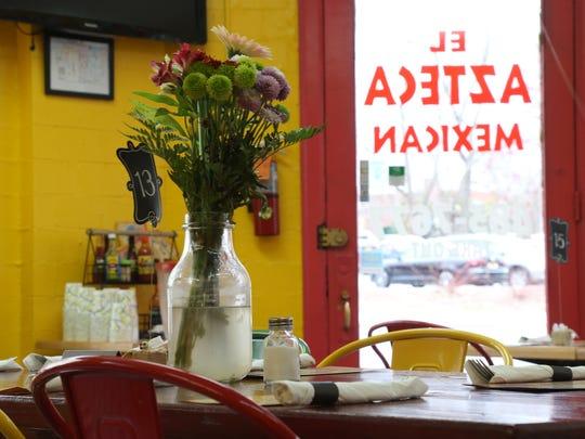 El Azteca Restaurant in the City of Poughkeepsie on April 17, 2018.