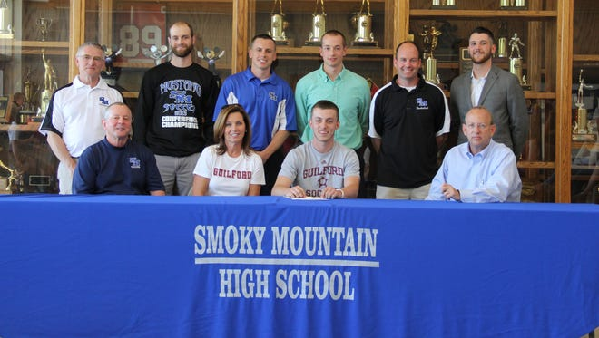 Smoky Mountain senior Jordan Couch will play college soccer for Guilford.