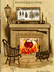 Home and hearth, Thanksgiving 1934.