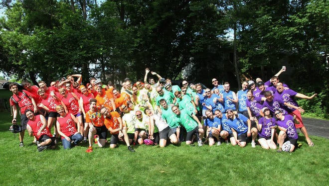About 55 people took part in last year's Ride for Pride to raise funds and awareness for the Gay Alliance of Genesee Valley. This year's ride will be held Saturday, June 18.
