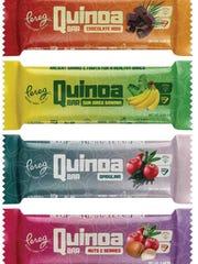 New quinoa bars from Pereg in Clifton.