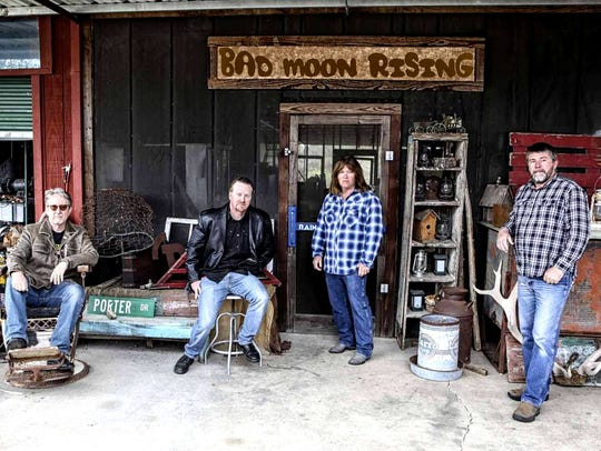 Dallas-based Bad Moon Risin' will play the hits of