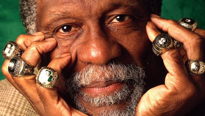 In 1966, Bill Russell became the first black coach in any major sport since World War II. He is the only NBA player to win 11 championships — two of them as a player-coach.