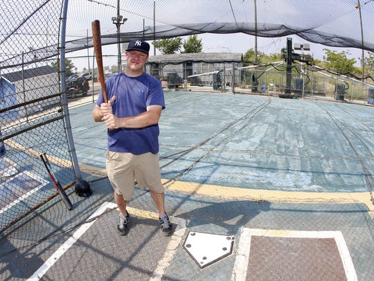 Doug Grant, owner of Keansburg Batting Cages at 275
