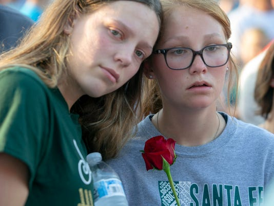 USP NEWS: SANTA FE HIGH SCHOOL SHOOTING S OTH USA TX