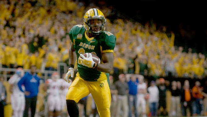 Running back John Crockett controls the tempo for North Dakota State.