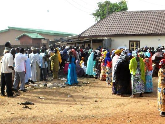 EPA NIGERIA ELECTIONS POL ELECTIONS NGA