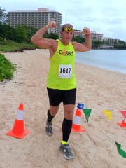 Runners had fun in the sun and rain at the 43rd annual Guam Running Club Tumon Bay 5.5 mile run