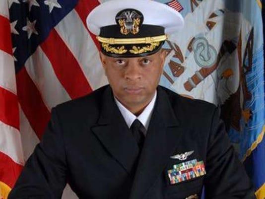 Navy Commander Alphonso Doss