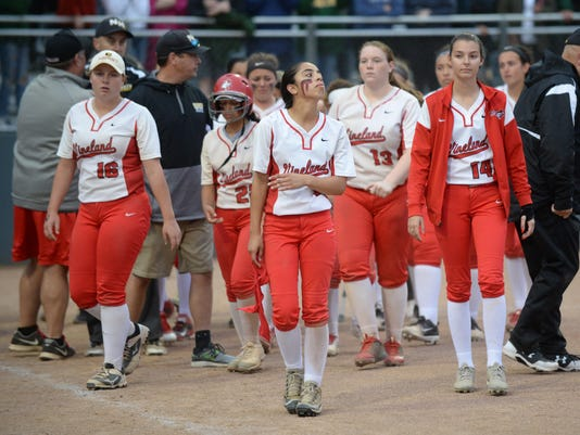 Vineland loses in softball state title thriller