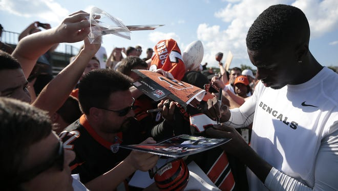 Cincinnati Bengals wide receiver A.J. Green signed a long-term extension with the team.
