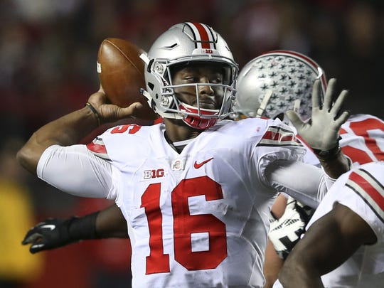 Ohio State quarterback J.T. Barrett has the starting job all to himself and will lead the Buckeyes into hostile territory in Week 3 during a non-conference clash at Oklahoma.
