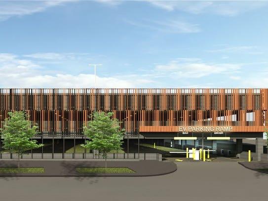 Nelson Development plans a 399-stall parking garage