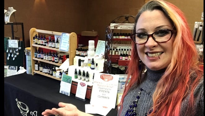 Melissa Adelbush is the owner of Aurora's Apothecary, which has locations in Morrison and Appleton.