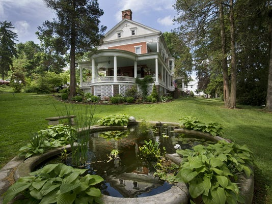 The Emig Mansion Bed & Breakfast in Emigsville, Manchester Township Sunday May 17, 2015.
