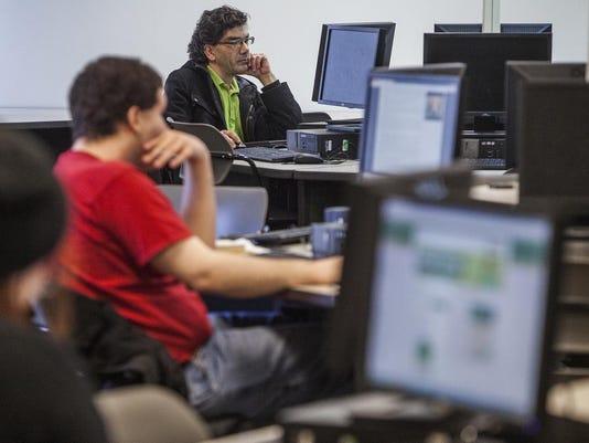 Ivy Tech computer lab